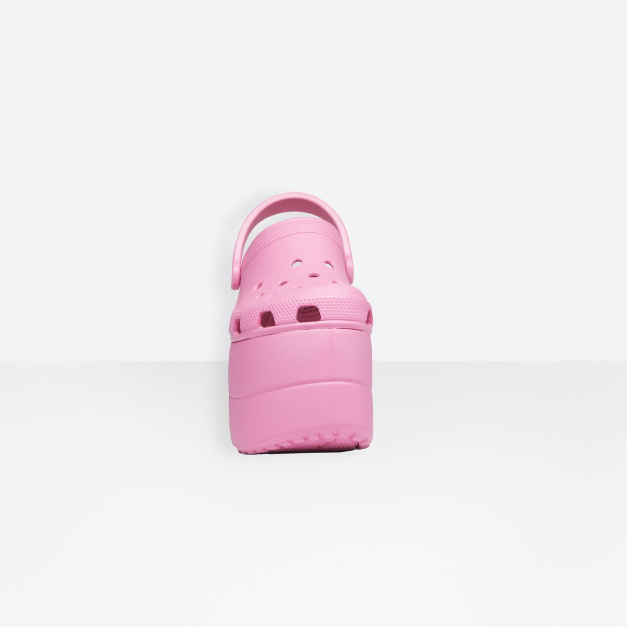 0764ebd04cd4 Lyst - Balenciaga Foam Platform Sandals in Pink
