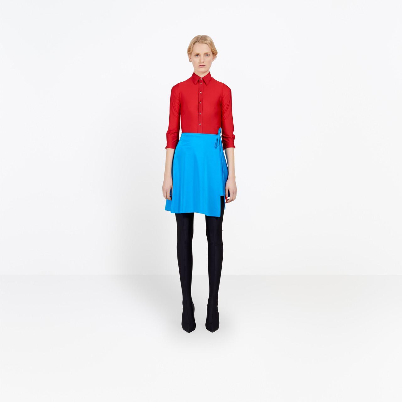 Lyst Balenciaga Shrunk Shirt In Red