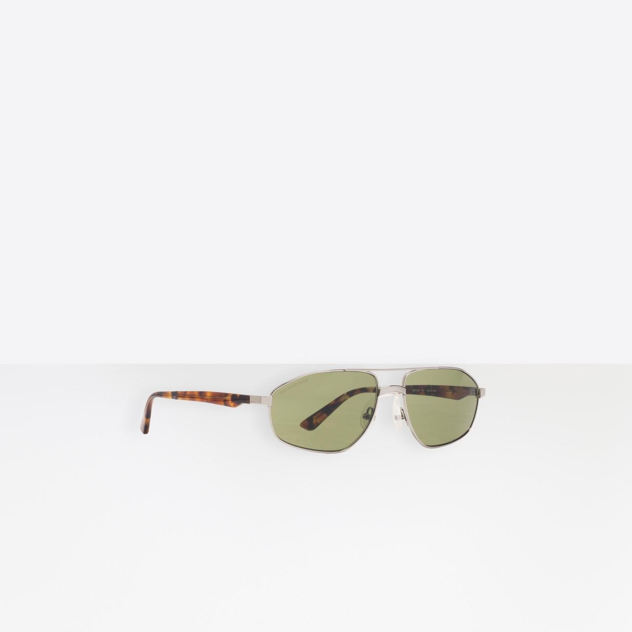 313734f03f Gafas de sol Vintage Aviator Balenciaga de hombre - Lyst