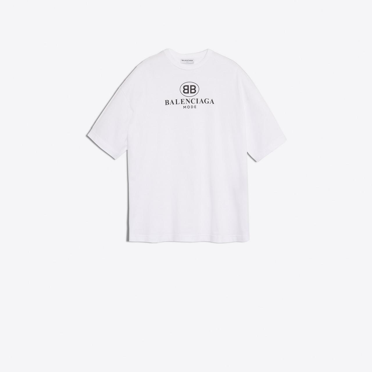 White BB Mode T-Shirt Balenciaga Big Sale Online XqO47oK3kj