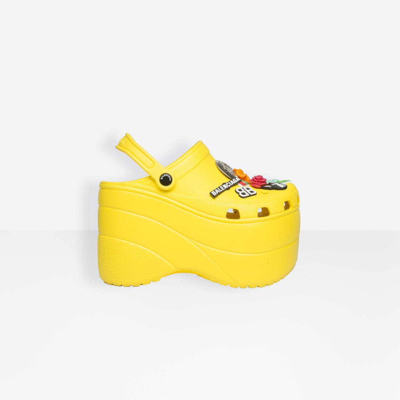 Balenciaga Foam Platform Sandals in