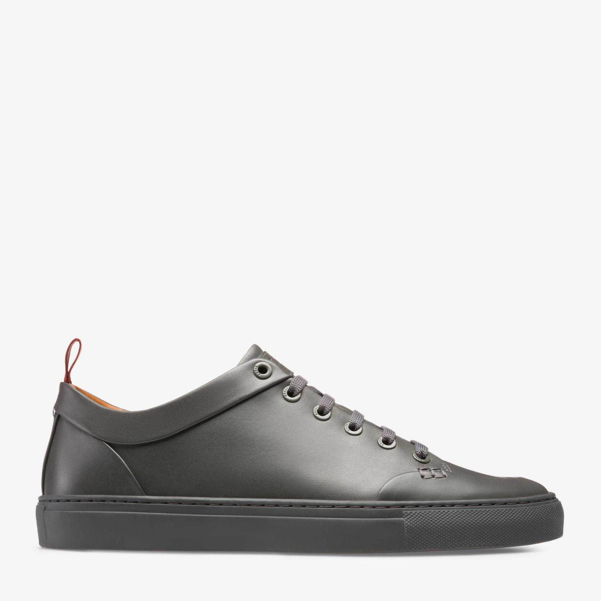 Bally Leather Helliot in Grey (Gray