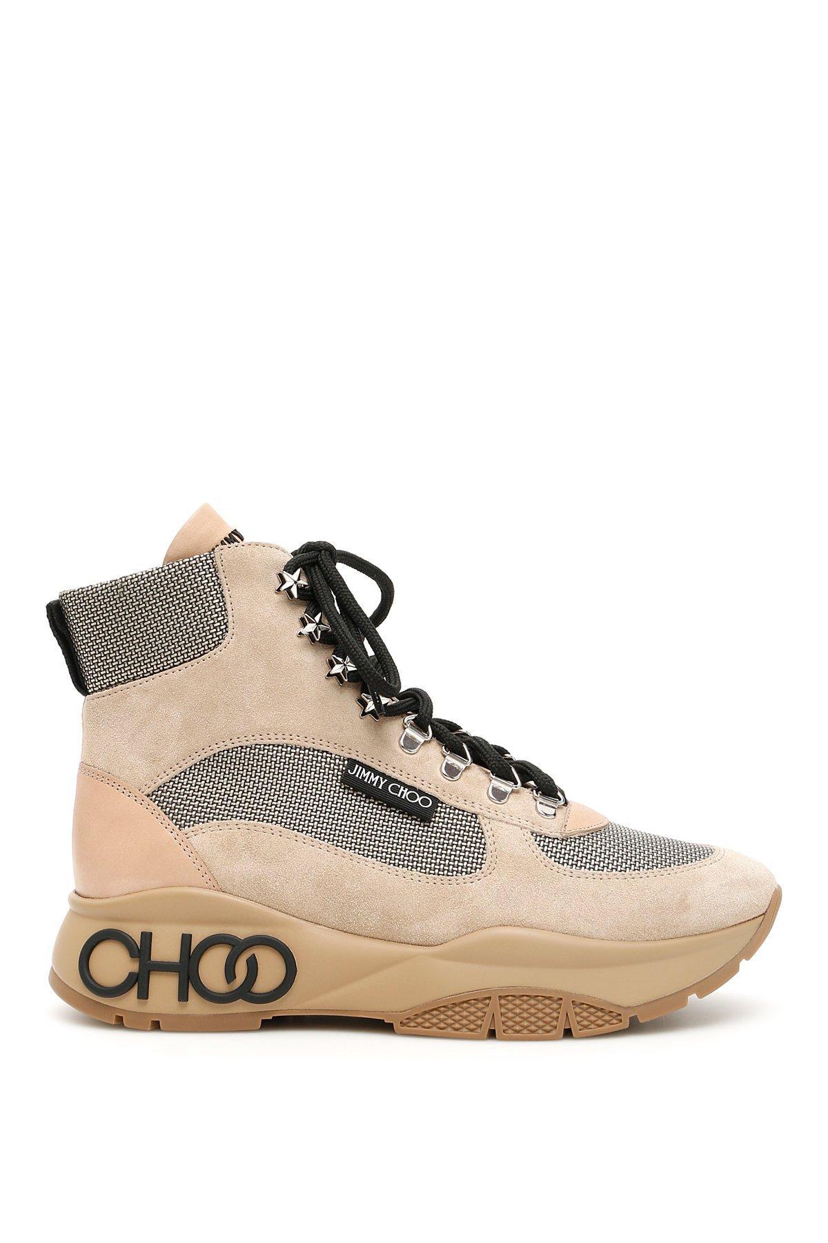 Jimmy Choo Inca Suede Hiking Boots