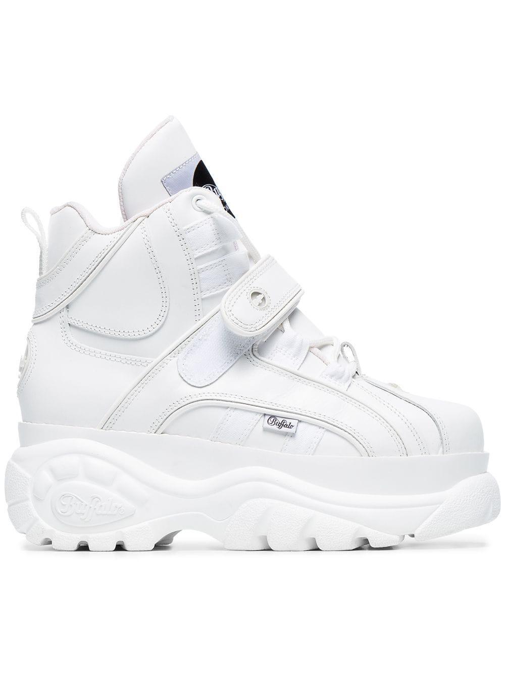 White 1348 Platform Sneaker Boots