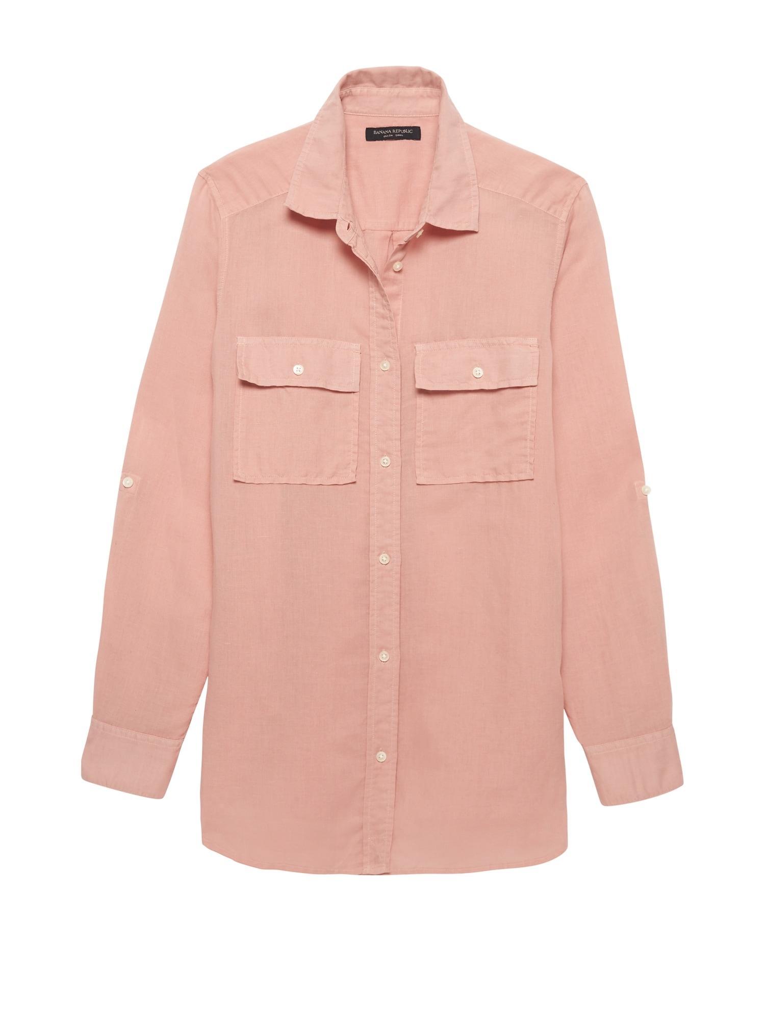 207d2d3a95 ... Dillon Classic-fit Linen-cotton Utility Shirt - Lyst. View fullscreen