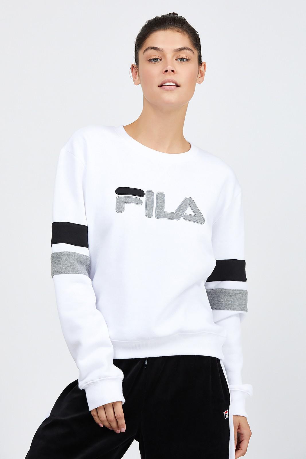Women's White Newton Sweatshirt