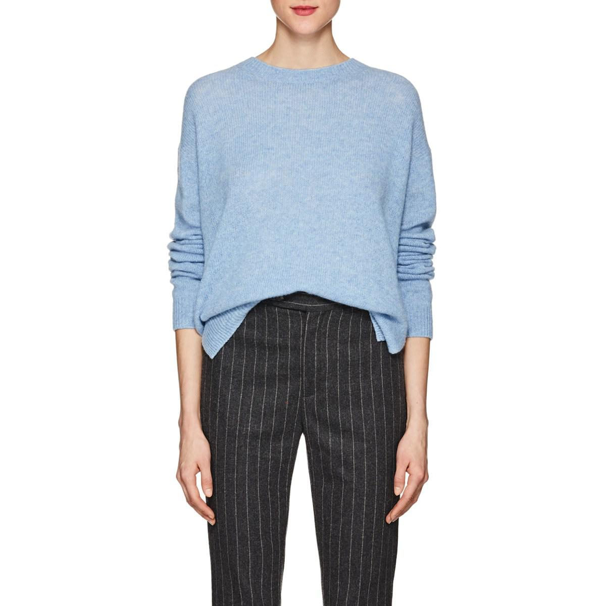 1b493dc875e Lyst - Acne Studios Deniz Wool Sweater in Blue
