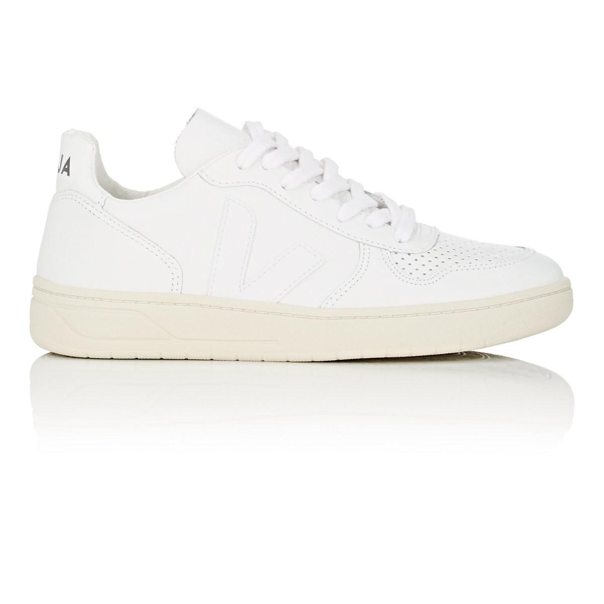 6d4524bf44ca Veja. Women s White V-10 Leather Sneakers.  150 From Barneys New York