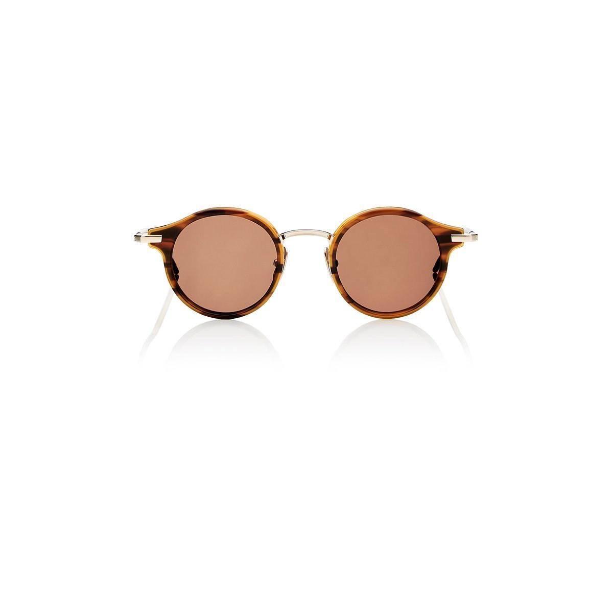 93e1fce0416 Lyst - Thom Browne Tb 807 Sunglasses in Brown for Men