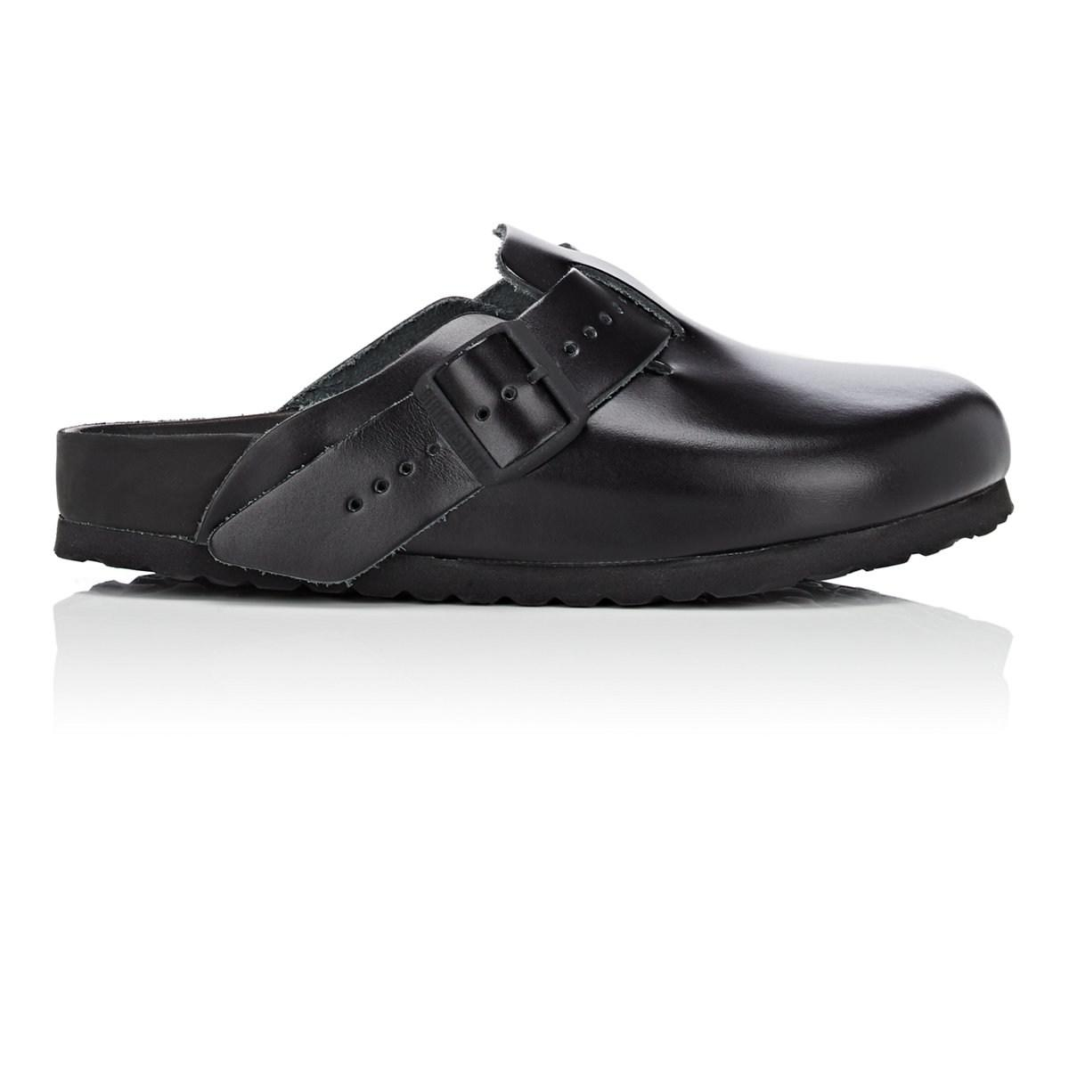 cheap sale with mastercard Rick Owens Women's Boston Exquisite Leather Clogs latest collections cheap online pay with visa cheap online oUMChw8
