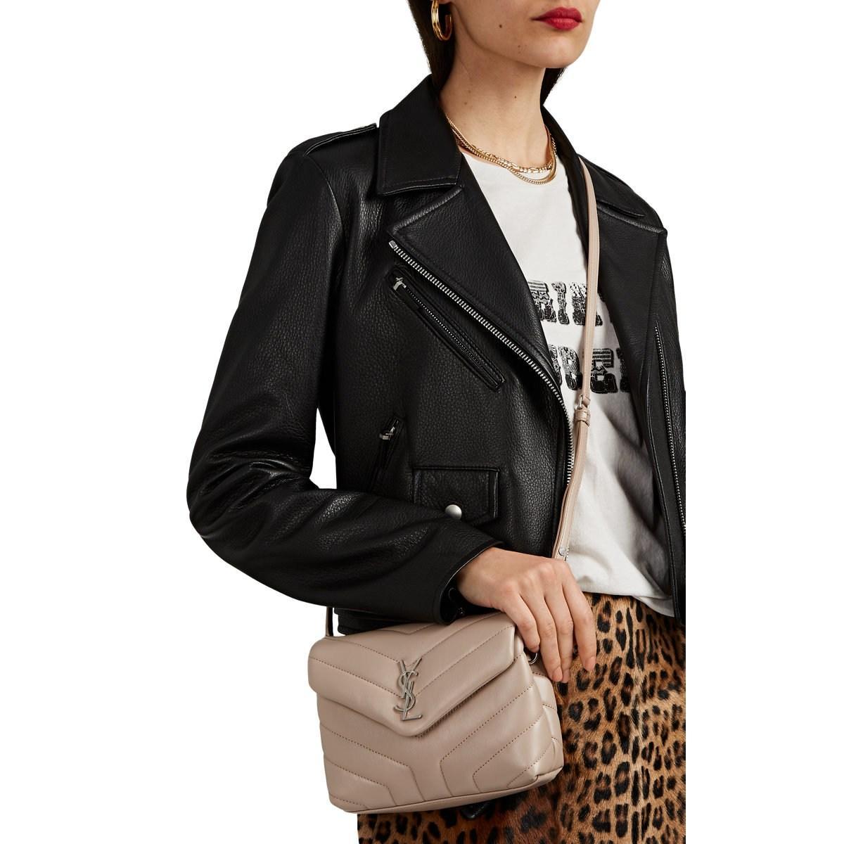 64fc5b0485fca Saint Laurent - Multicolor Monogram Loulou Toy Leather Shoulder Bag - Lyst.  View fullscreen