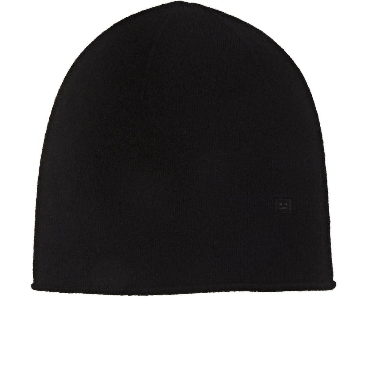 Acne Emoji Wool Beanie in Black for Men - Lyst 07ccdfe0b