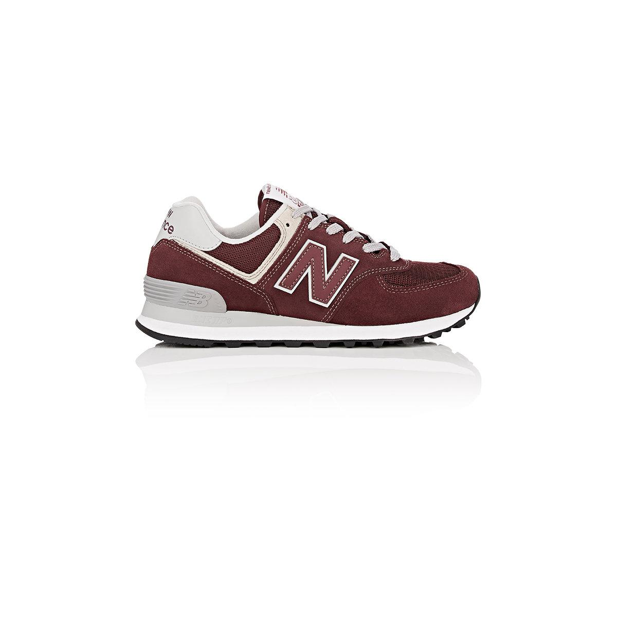 596b100b1232a New Balance - Multicolor 574 Classic Suede & Mesh Sneakers - Lyst