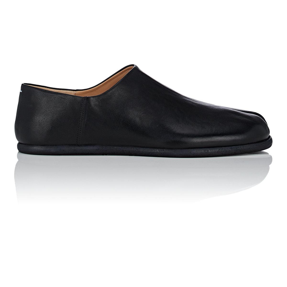Mens Tabi Leather Loafers Maison Martin Margiela Outlet How Much Cheapest For Sale Cheap Finishline Genuine Sale Online Outlet Best Seller ezfCm