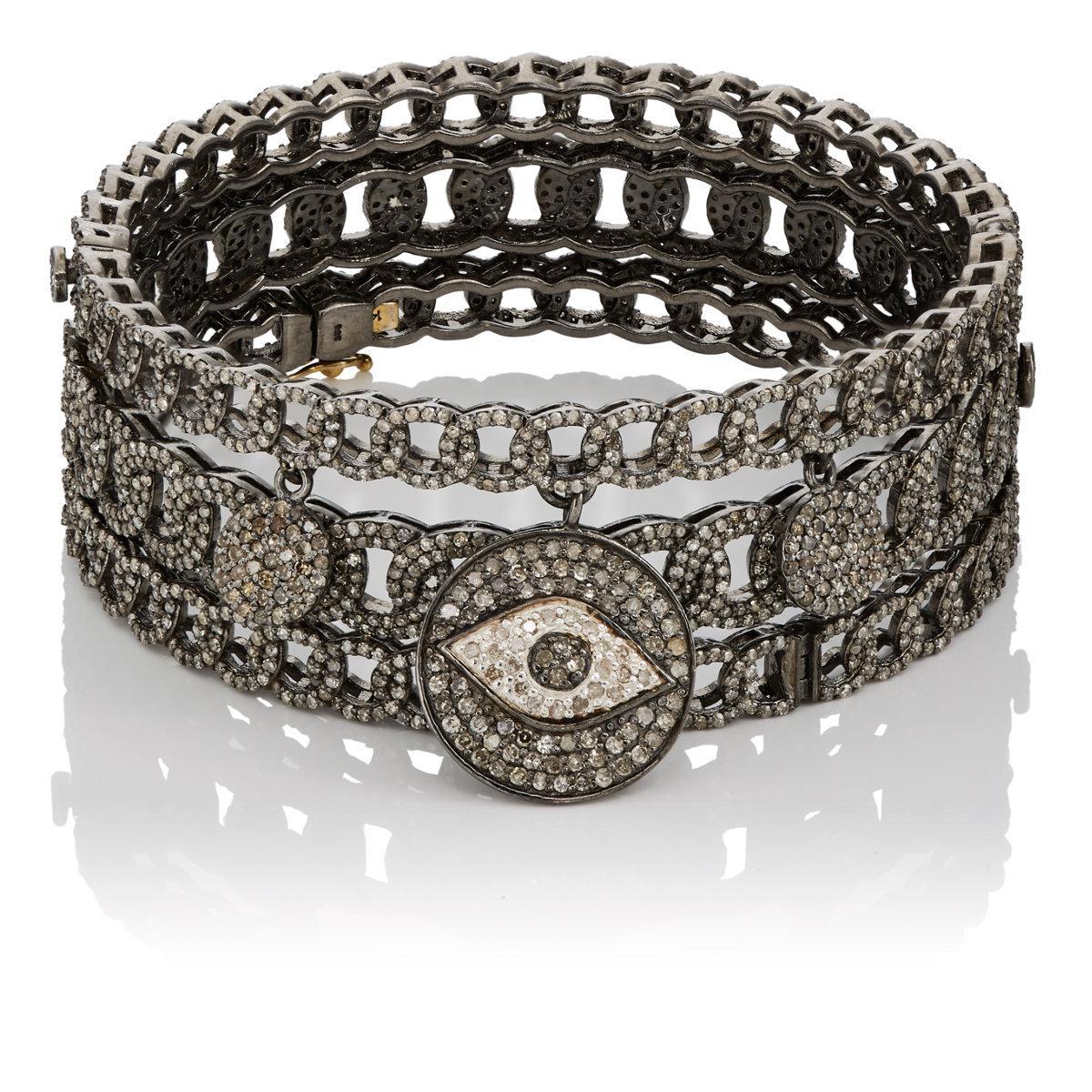 Carole Shashona Womens Wanderlust Protection Eye Bracelet Set HAzZkSVzE