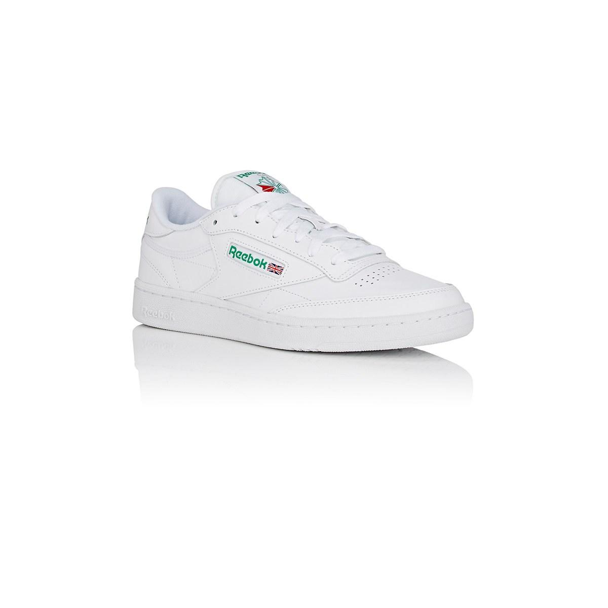 aba83fc18be8 Reebok - White Club C 85 Leather Low-top Sneakers for Men - Lyst. View  fullscreen