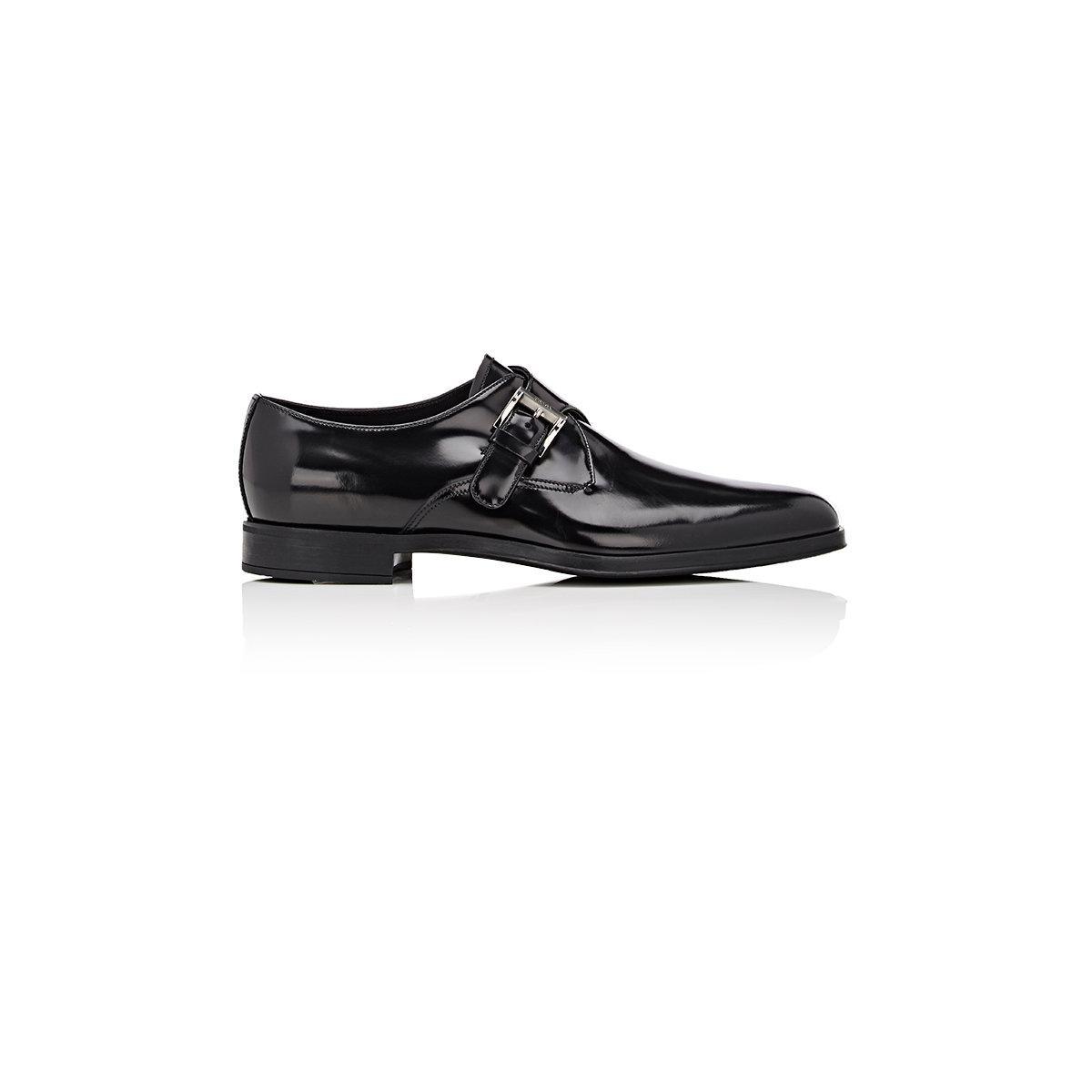 Prada Mens Double Monk Strap Shoes