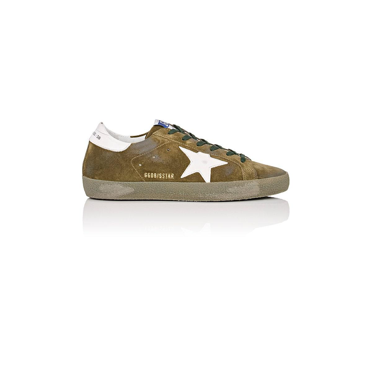 Deluxe Leather Suede Gloves: Golden Goose Deluxe Brand Superstar Suede & Leather