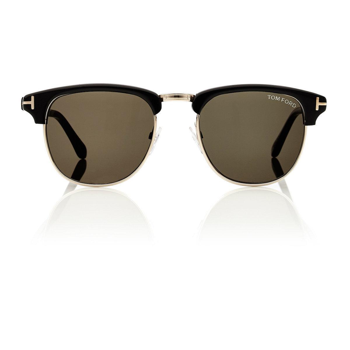c9625247807 Lyst - Tom Ford Henry Sunglasses for Men