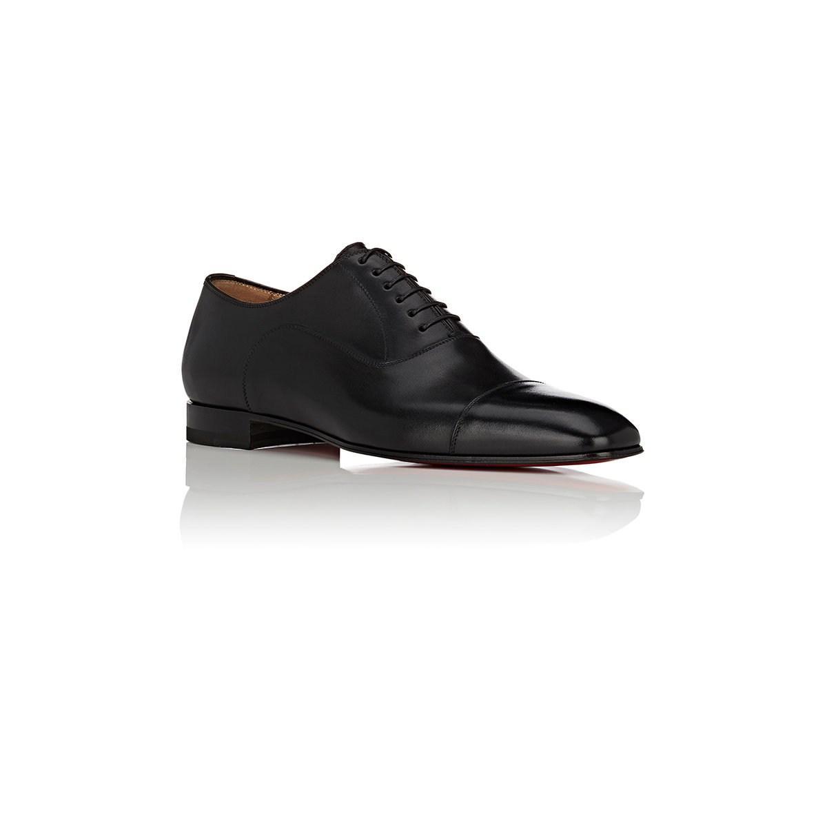 fde2209e86e Lyst - Christian Louboutin Greggo Leather Balmorals in Black for Men