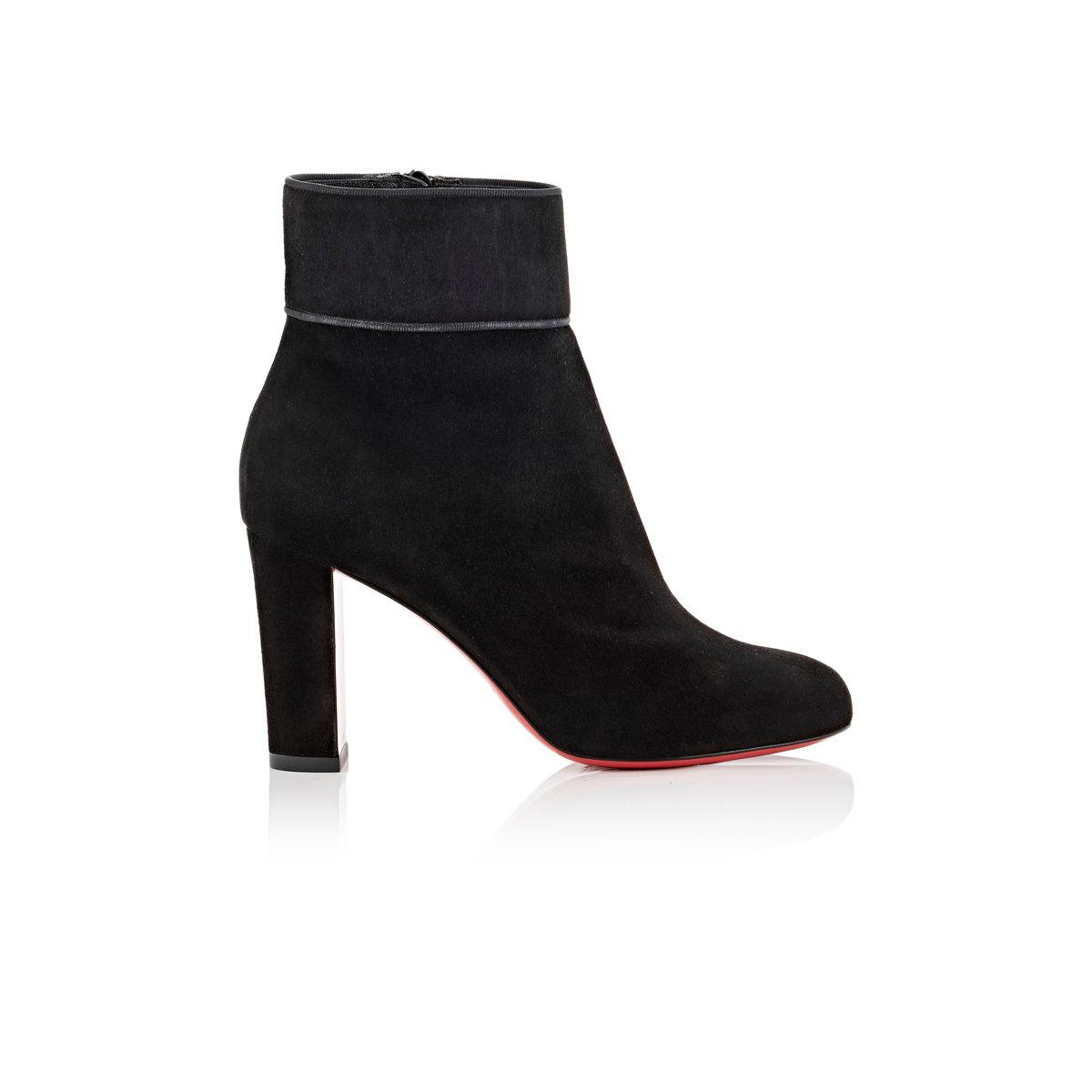 new arrival 41553 c1ac0 Women's Black Moulamax Suede Ankle Boots