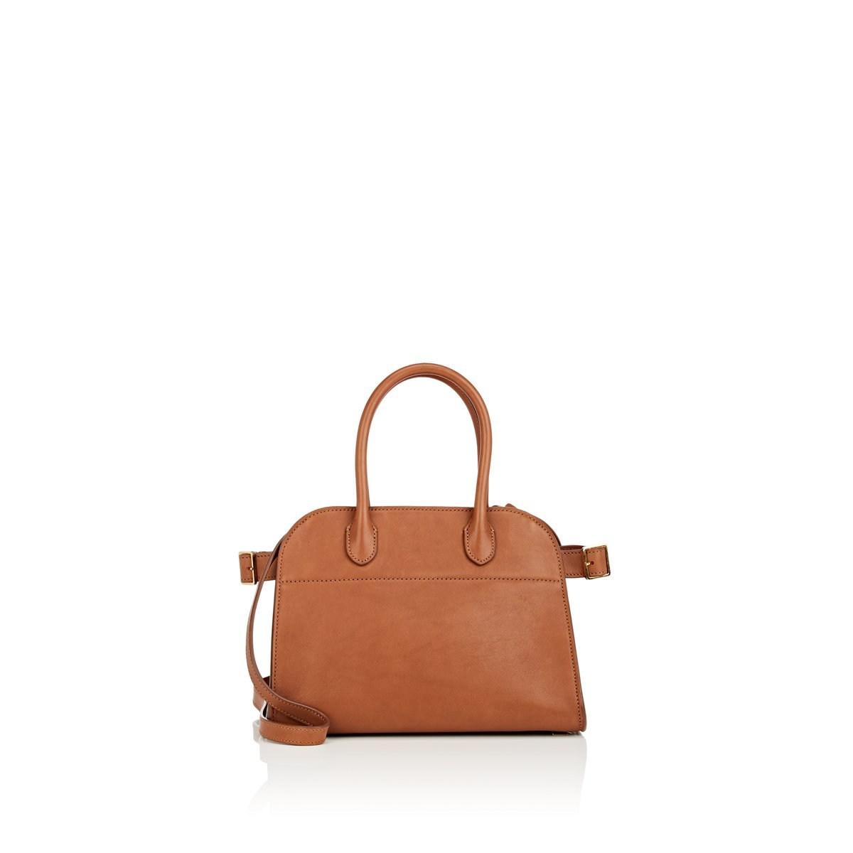 c9b84b75cf Lyst - The Row Margaux 10 Leather Satchel in Brown