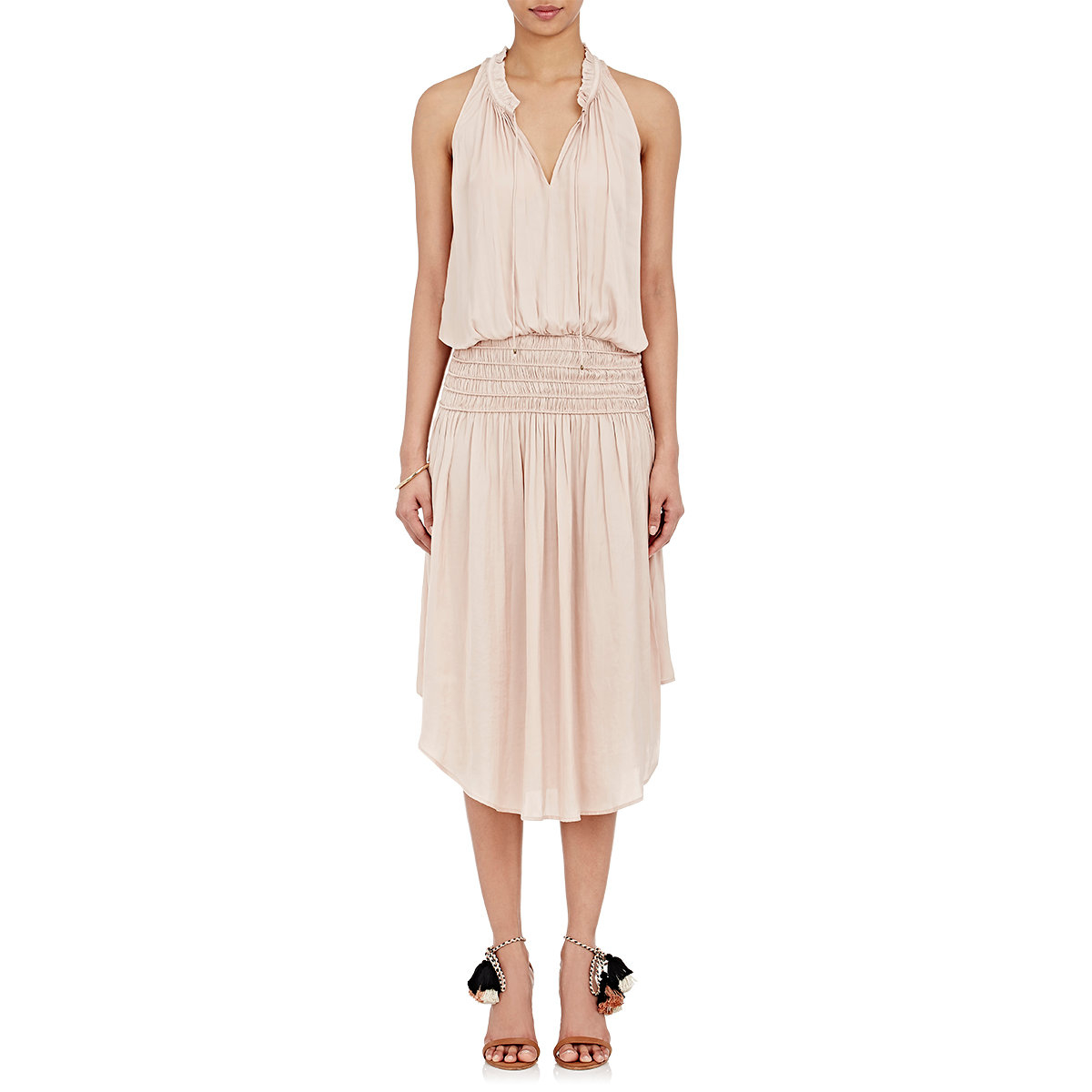 Cleo S Clothing: Ulla Johnson Women's Cleo Maxi Dress In Pink