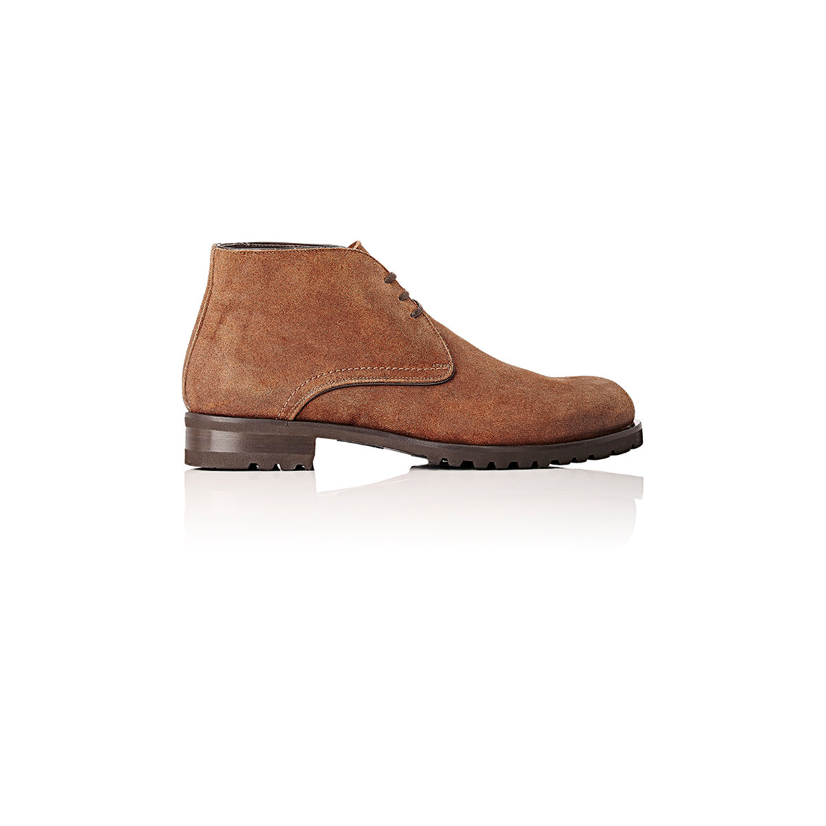 harry s of griffen chukka boots in brown for lyst