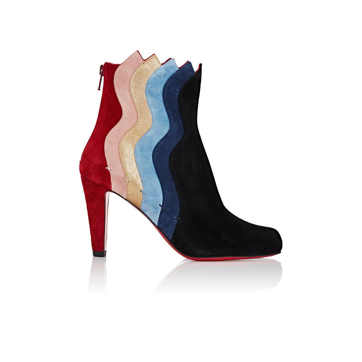 Louboutin Shoes Wavy Heel