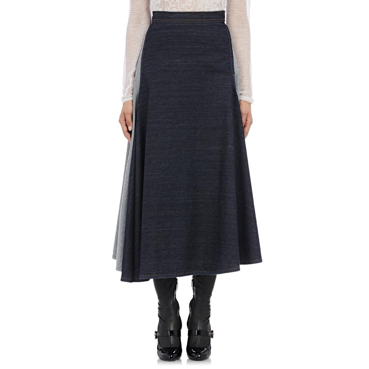 Blue Full Skirt 107
