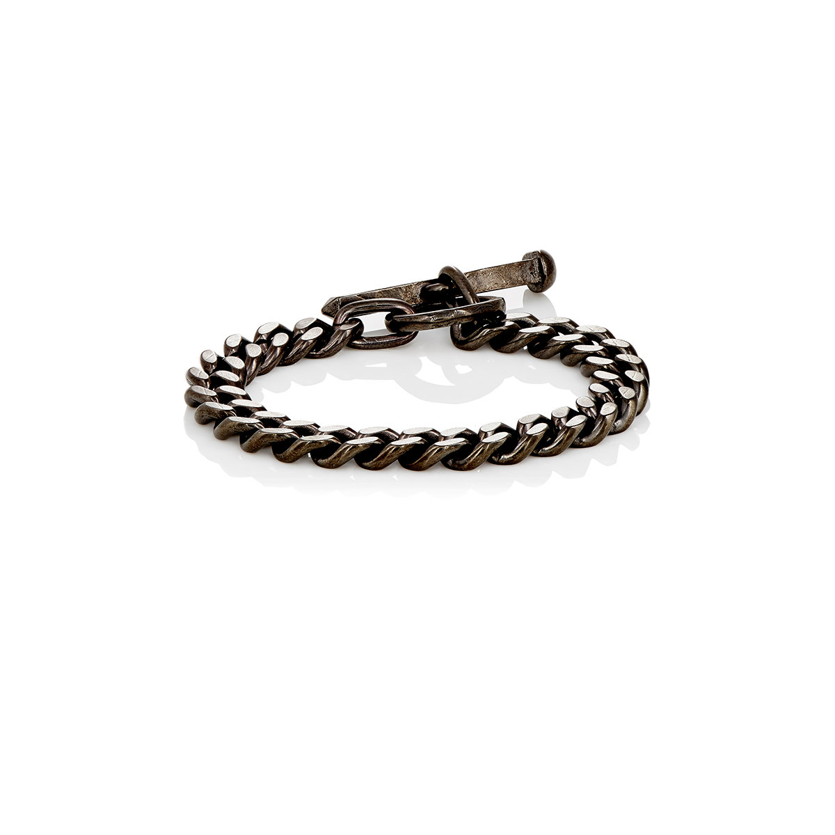 Lyst Giles Amp Brother Chain Bracelet With Railroad Spike
