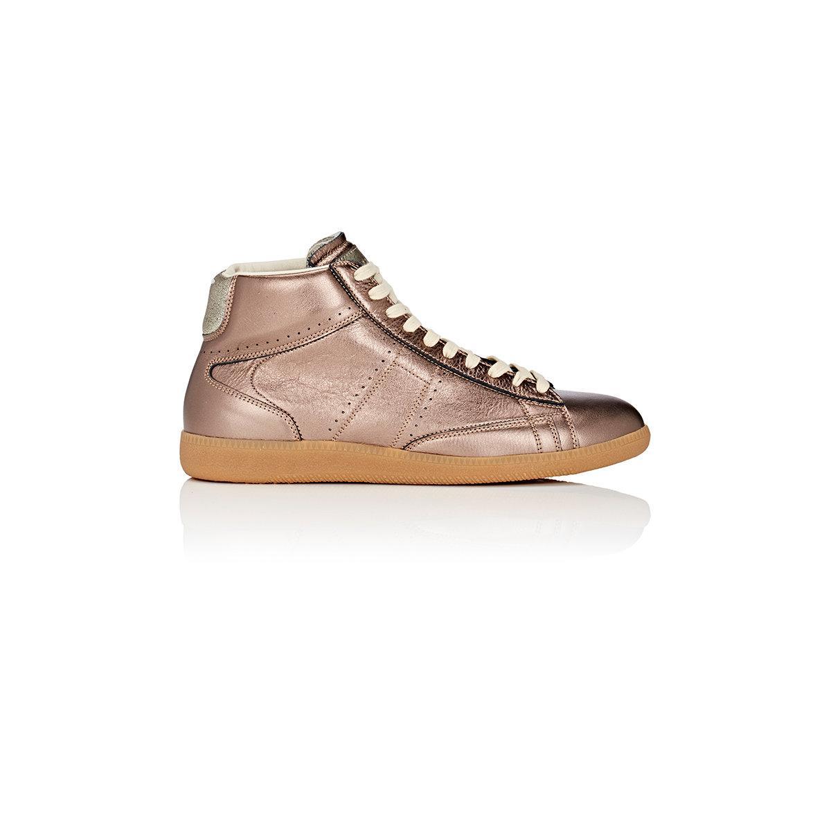 Maison margiela Replica Sneakers in Metallic | Lyst
