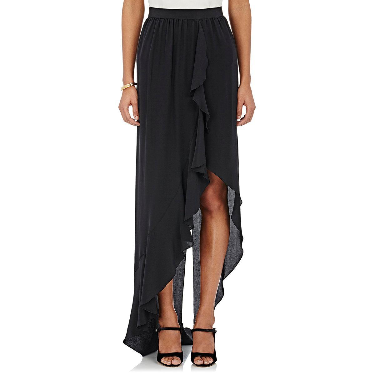 Would love silk ruffle skirt