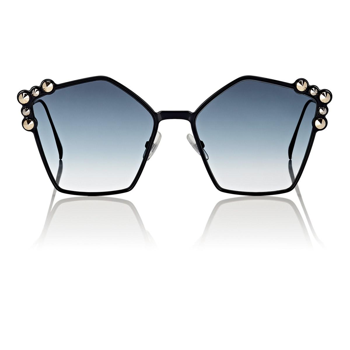 310a3e26b23eb Lyst - Fendi Ff0261 s Sunglasses in Blue