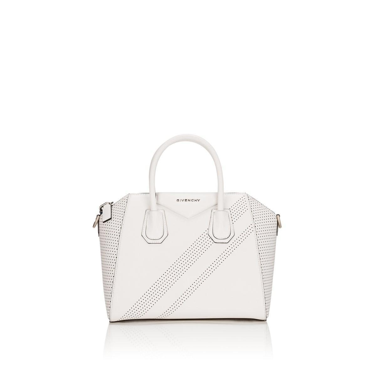 Givenchy - White Antigona Small Leather Duffel Bag - Lyst. View fullscreen a19bd523f6b53