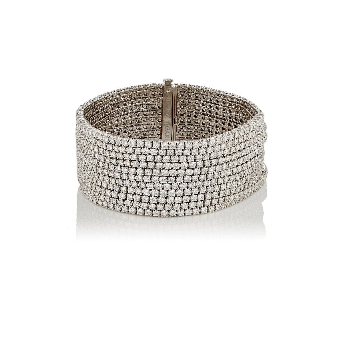 Lyst Sidney Garber 11 Row Bracelet In White