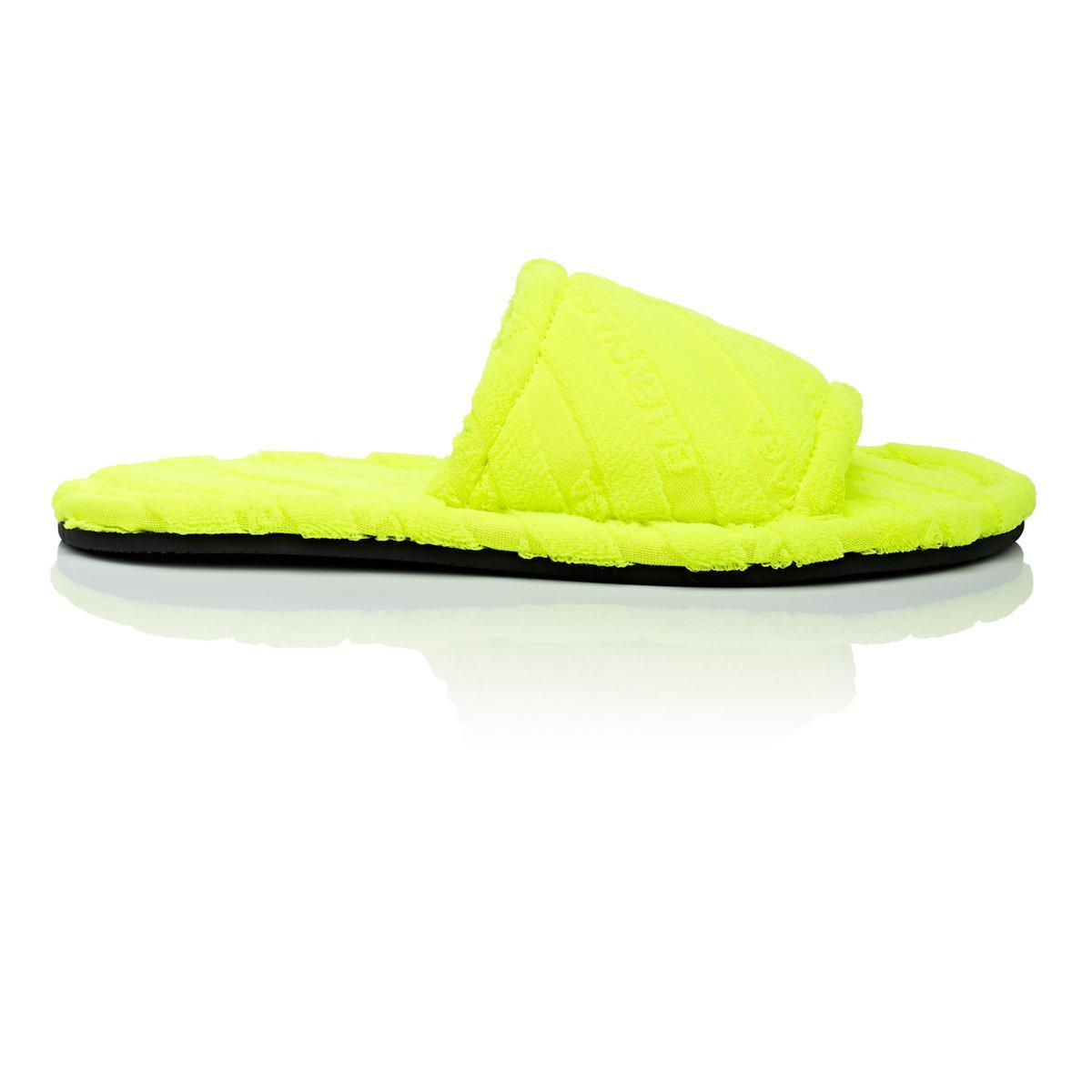 balenciaga neon sandals on sale bf171 10583