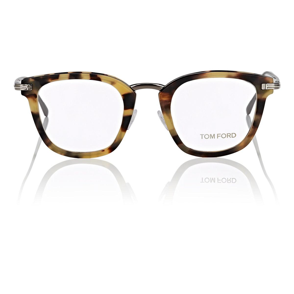 60fb0706a3 Lyst - Tom Ford Tf5496 Eyeglasses in Brown for Men