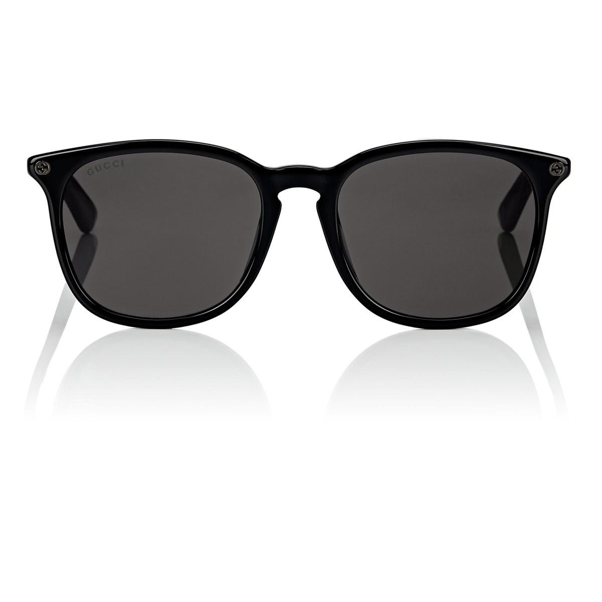 4be2bb343103d Gucci GG0154S Sunglasses in Black for Men - Lyst