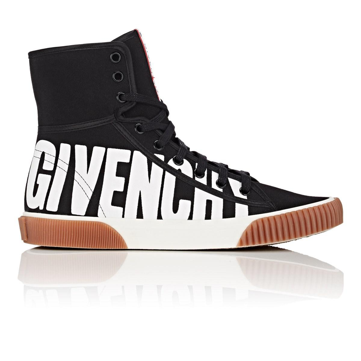 Givenchy Canvas Boxing Sneakers in