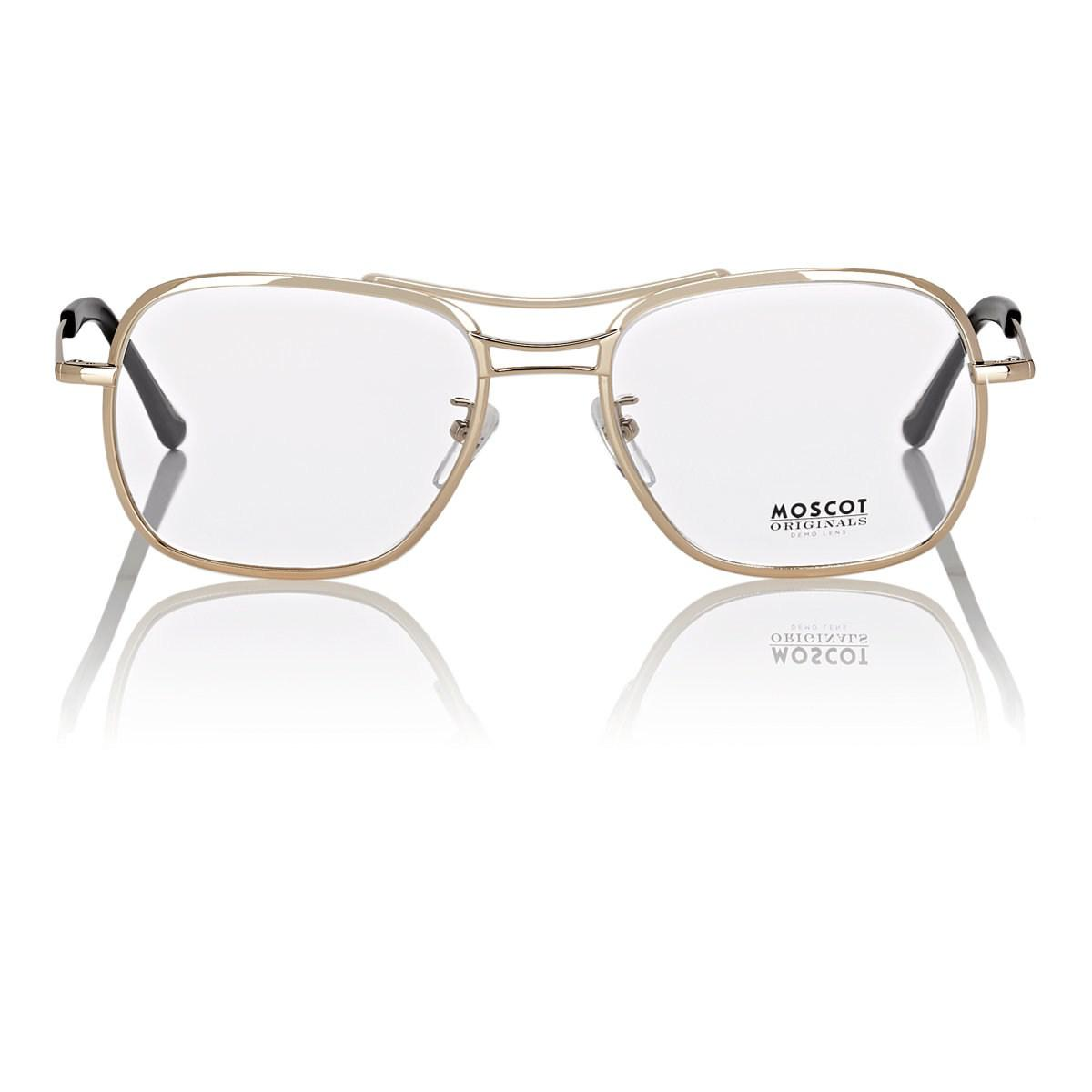 5e0f168ac1 Lyst - Moscot Heldish Eyeglasses in Metallic for Men