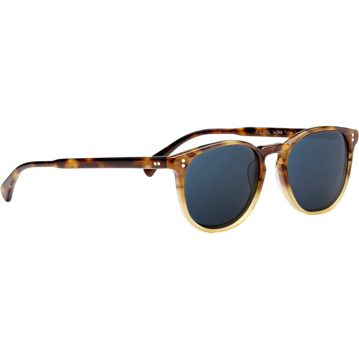 d14439c48bf Oliver Peoples - Blue Finley Esq. Sunglasses for Men - Lyst. View fullscreen