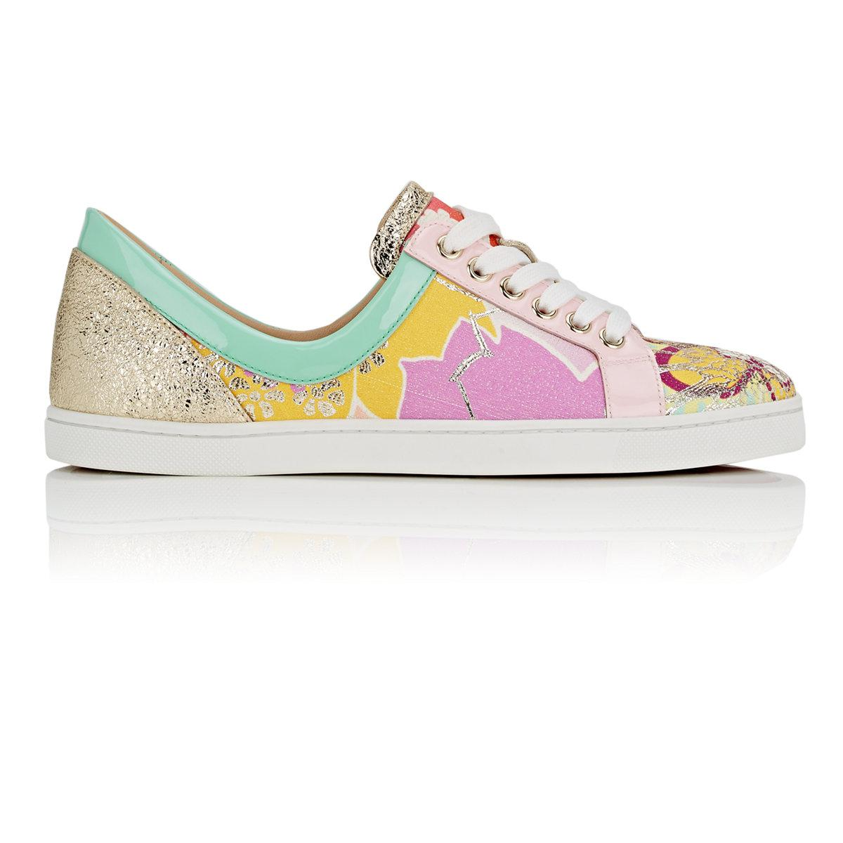 louboutin sneakers girl