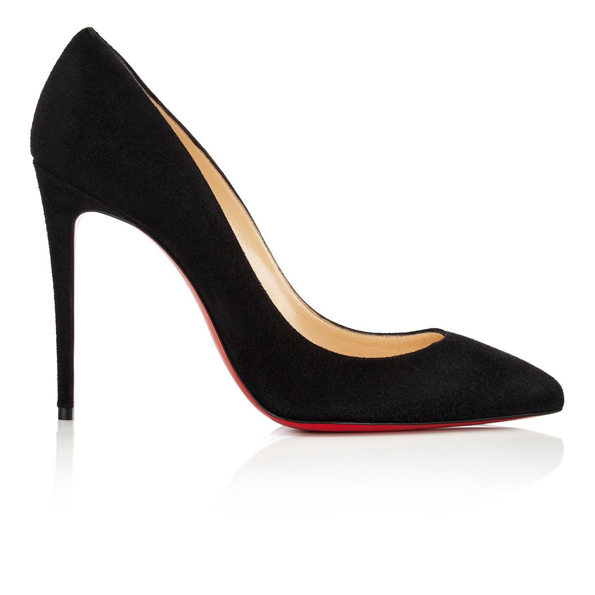 louboutin pigalle black suede