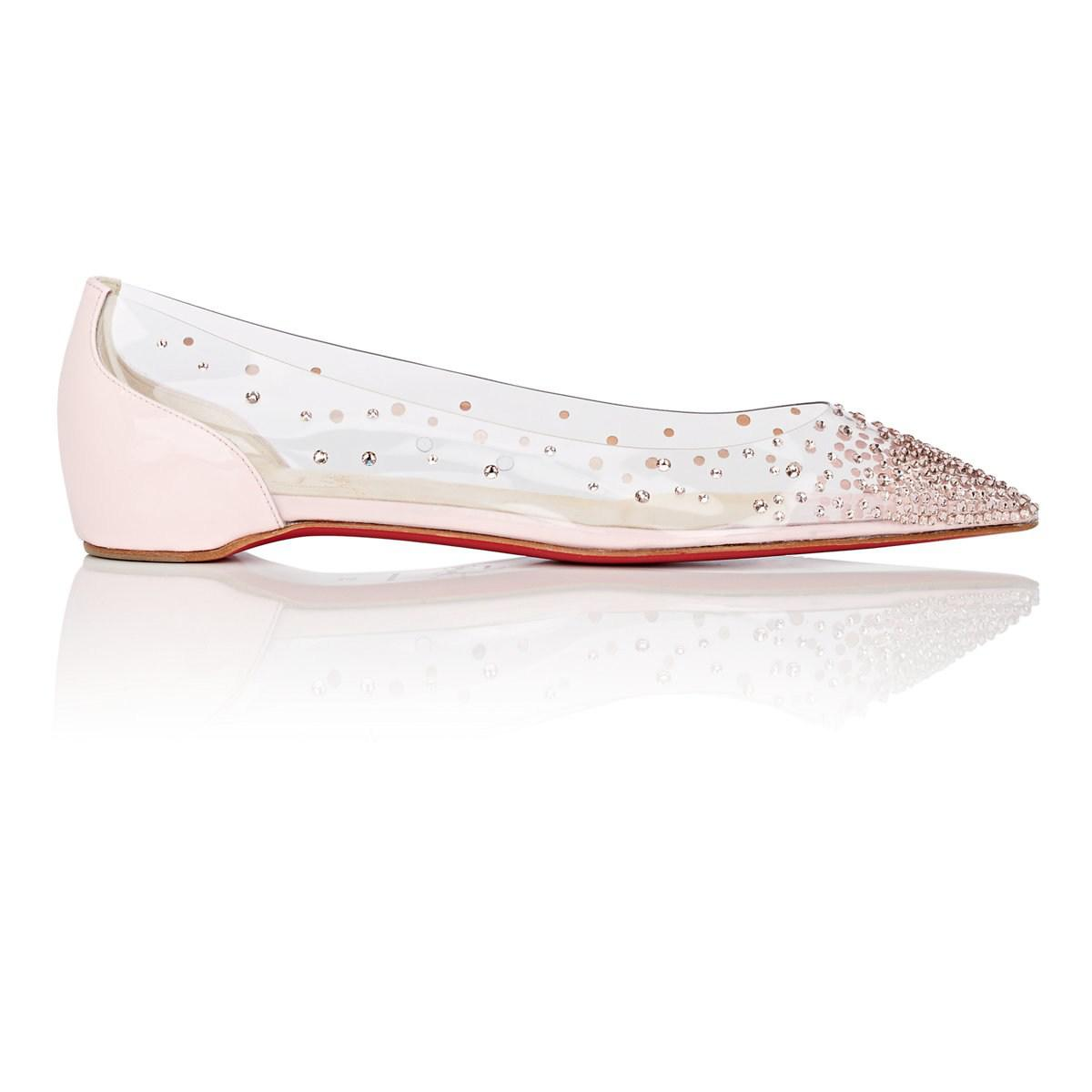 super popular b394d b9bc7 Women's Pink Degrastrass Pvc & Patent Leather Flats