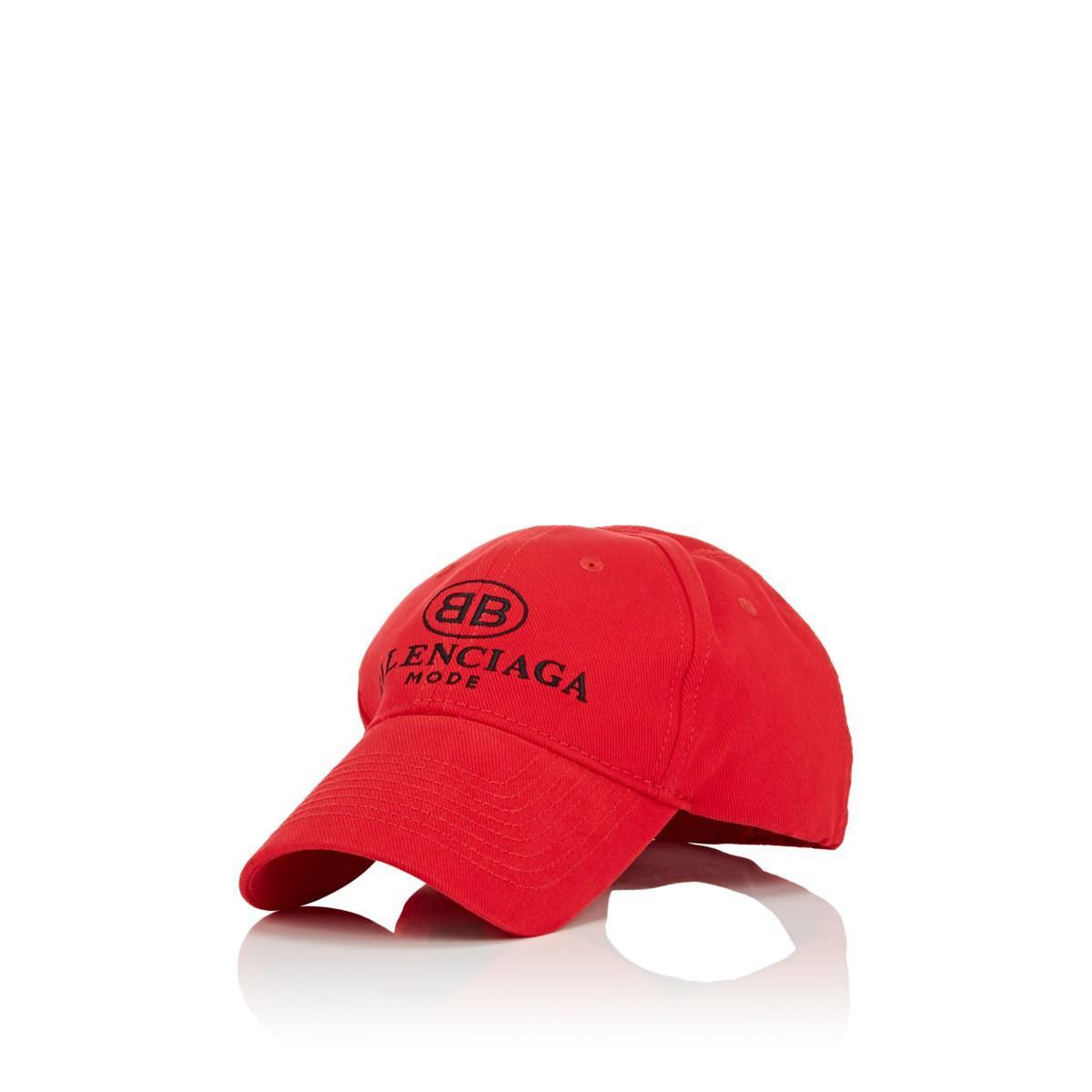 7a417289643 Lyst - Balenciaga bb Mode Cotton Baseball Cap in Black for Men