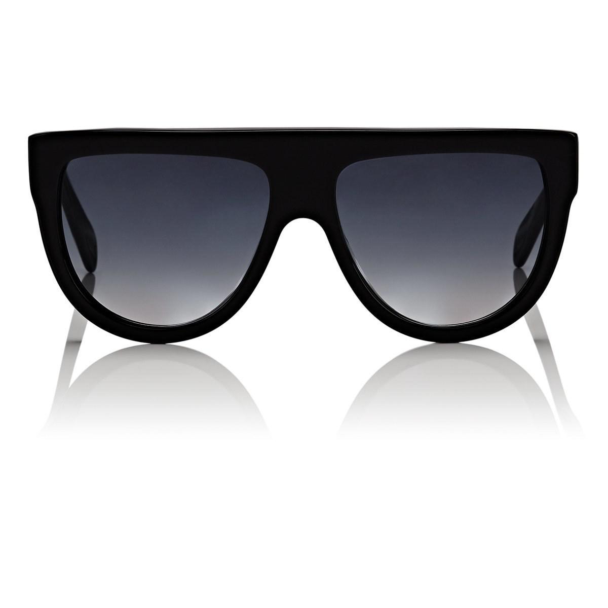 7053bf7a017d Lyst - Céline Aviator Sunglasses in Black