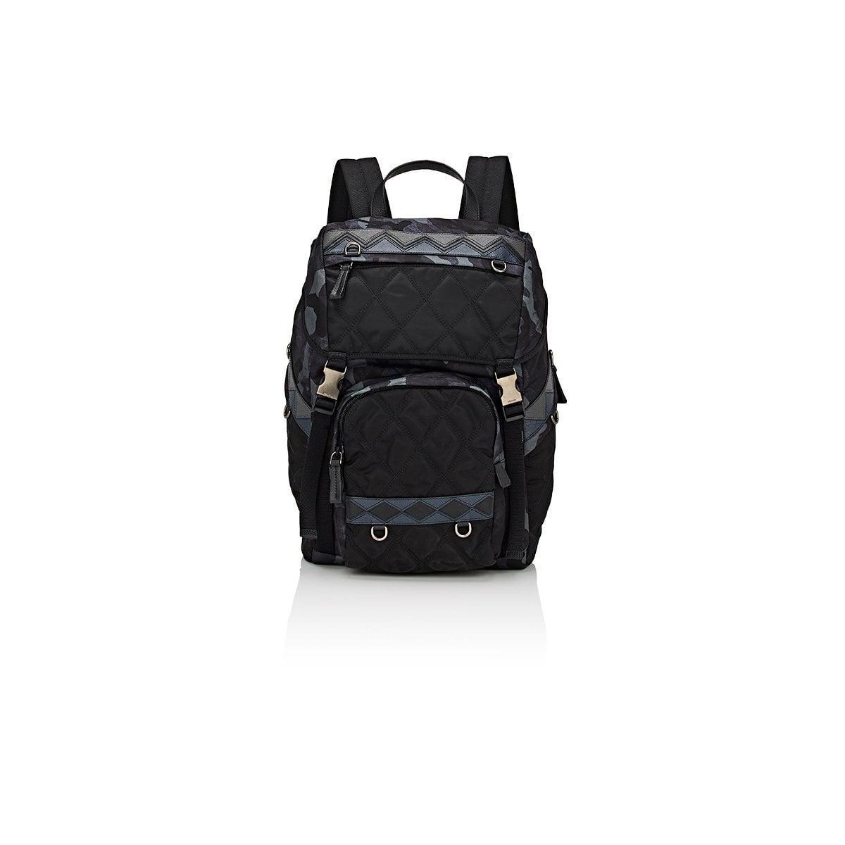 04f90ed5d64d greece prada. mens blue navy mountain fabric backpack c28f7 6fdb0; italy  lyst prada camouflage backpack in blue for men 1b9d5 5da61