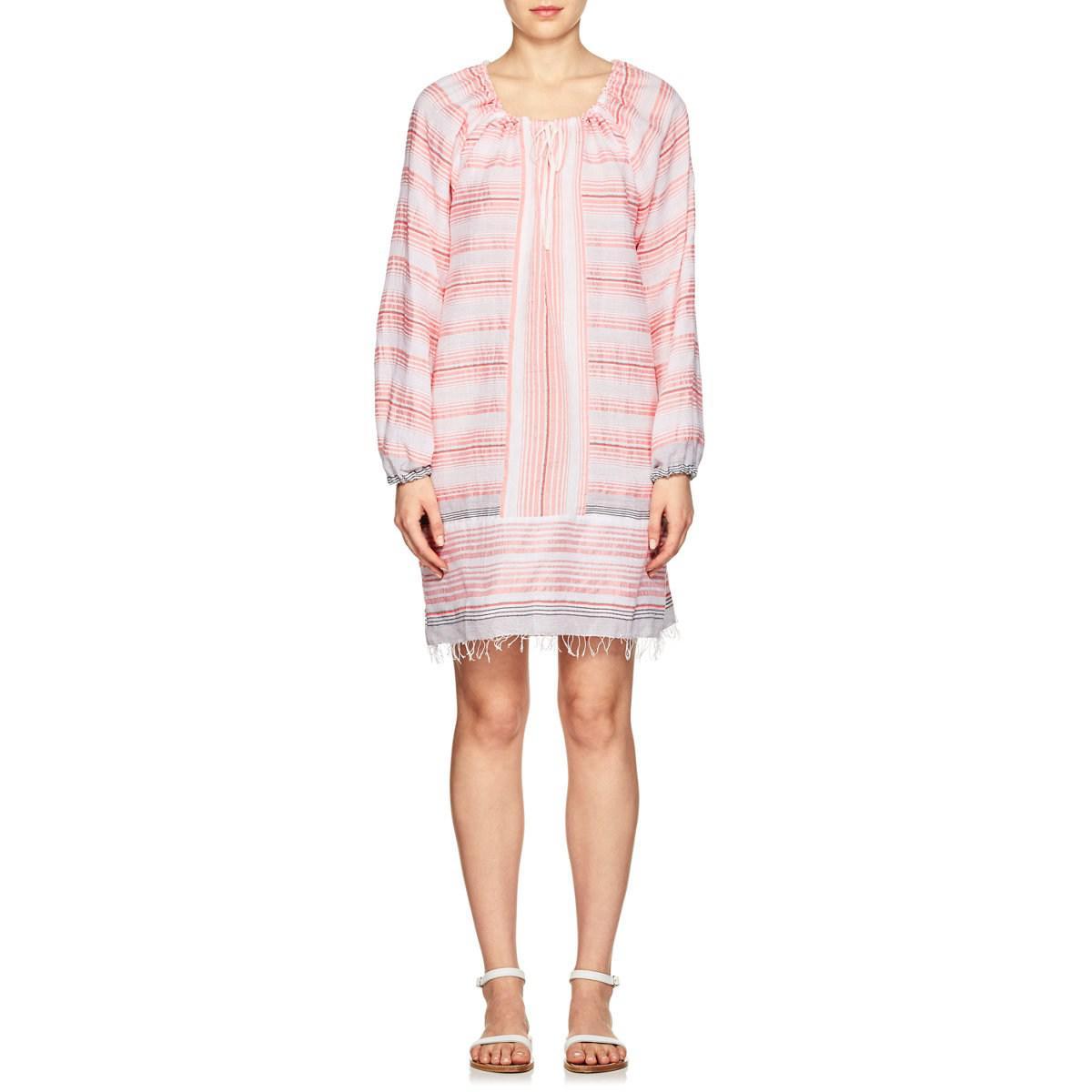 Womens Tereza Striped Cotton Minidress Lemlem Outlet Online Cheap Sale 2018 Cheap Sale Wiki 15eveZi