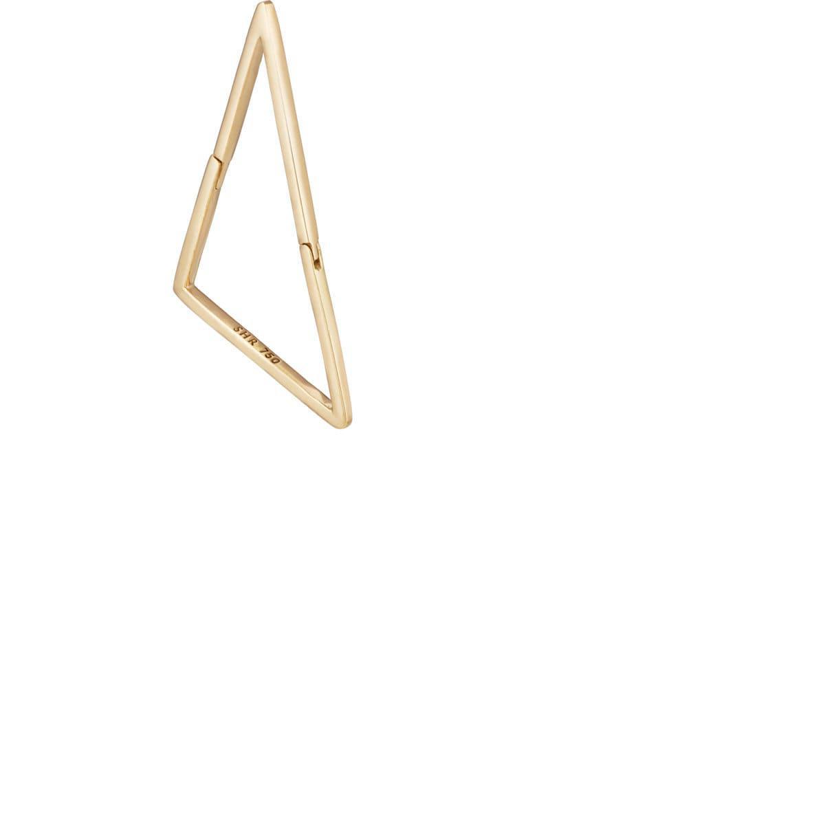 Shihara embellished bar earring - Metallic KvtKa